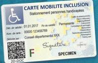 Nouvelle carte de mobilité inclusion