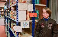 Florian, héros de 11 ans, son super-pouvoir : un coup de crayon solidaire