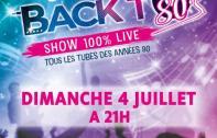 Concert : la troupe Back to 80's au stade Wagner le 4 juillet