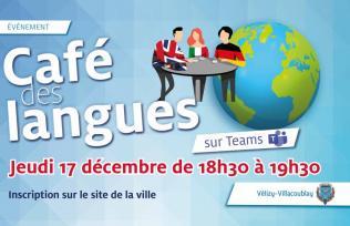 Etudiants et adultes participez au Café des langues !