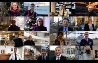 Vélizy-Villacoublay vous souhaite une belle année 2021