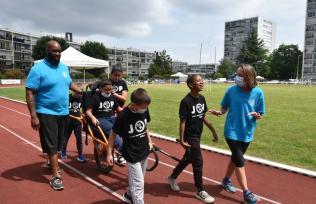 Journée olympique et paralympique avec les élèves de Vélizy