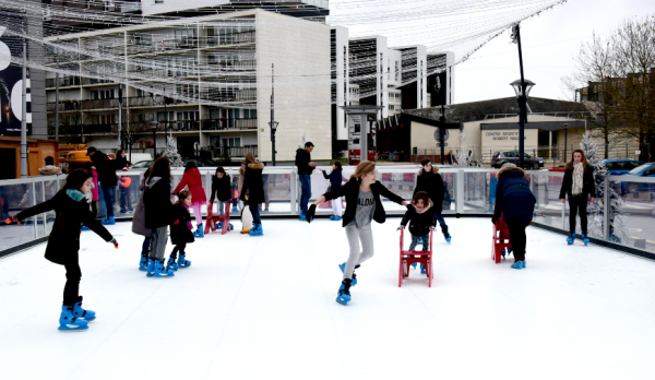 Animations  sur la patinoire